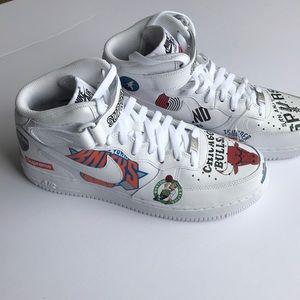 Nike Force 1 Mid 07 Supreme NBA
